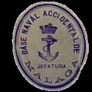 Sello utilizado por el jefe de la Base Naval Baudilio Sanmartín.